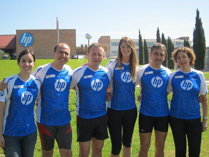 Solid Engineering, patrocinador de l'equip Hewlett Packard en el Trailwalker 2013