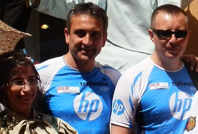 Solid Engineering patrocina el equipo 'HP Solid ENG' en Oxfam Trailwalker 2014