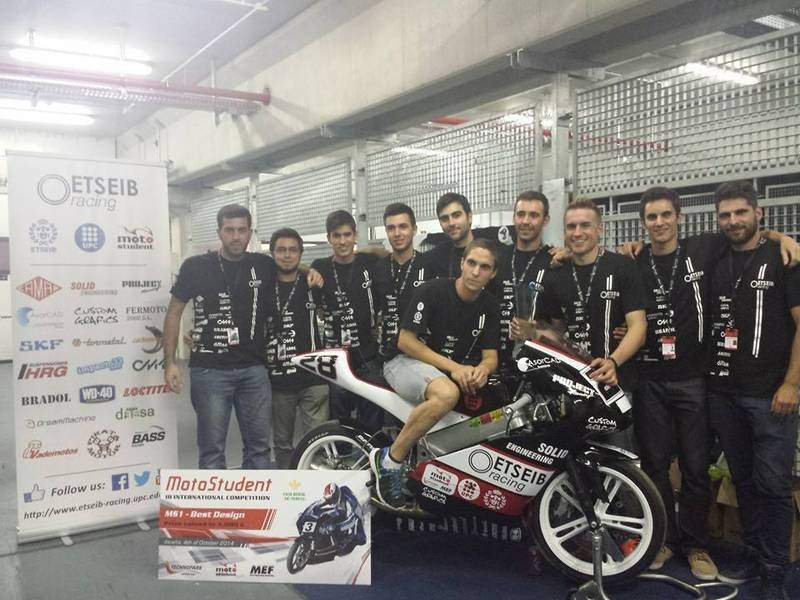 The ETSEIB Racing Team, Best Design Award for the 3rd Edition of Motostudent