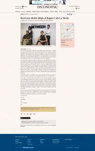 Noticia sobre expansión y nuevas filiales de BETWEEN