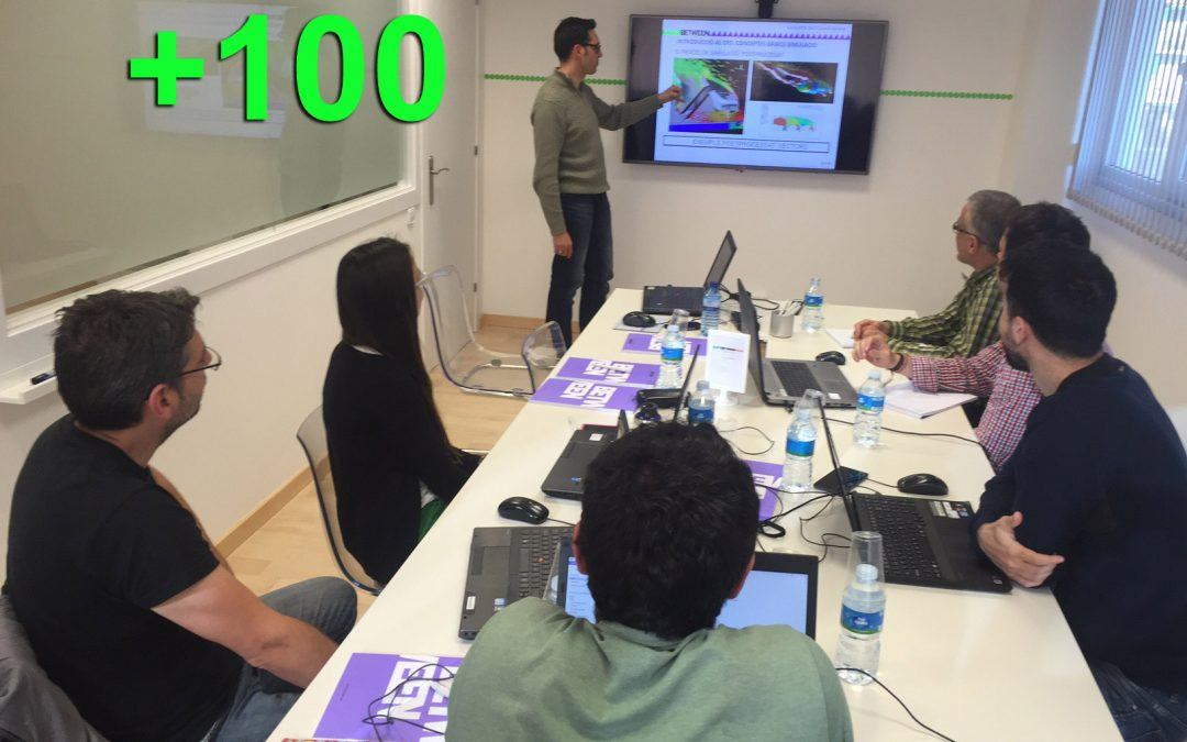 Más de 100 acciones formativas: We believe in training!