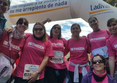 Carrera de la Mujer de Barcelona - Betweeners runners