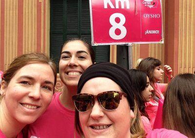 Nuestras Betweeners runners en la Carrera de la Mujer de Barcelona