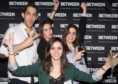 Equipo Madrid en la Between Night Barcelona 2017