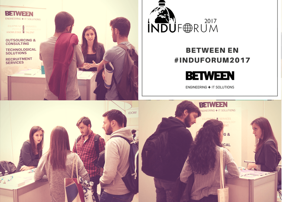 BETWEEN, present at the Induforum