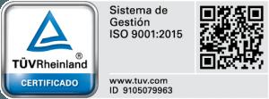 Certificado ISO 9001 Sistemas de Gestión BETWEEN