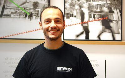 Our first success case of BETWEEN's internal promotion policy: Carlos Gabriel Sebastiani