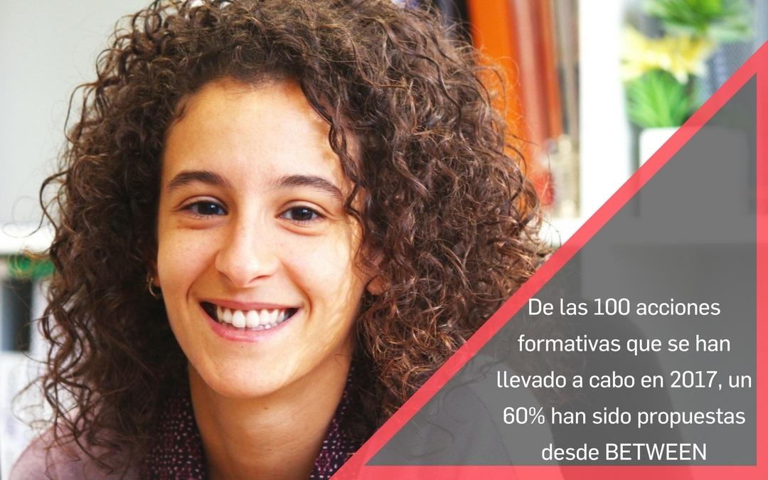 Conoce a Marta Giménez y la apuesta por la formación en BETWEEN