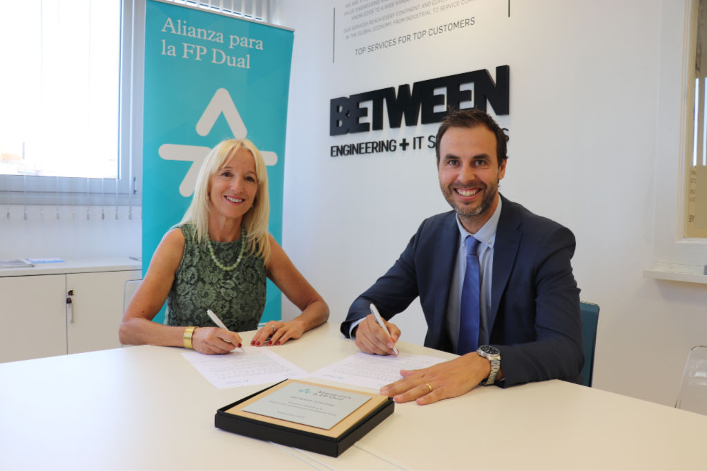 BETWEEN Technology joins the Alliance for Dual Vocational Training