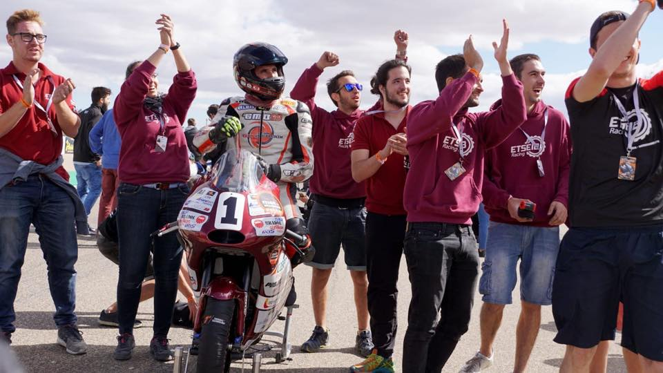 ETSEIB Racing says goodbye in fifth place at the MotoStudent championship