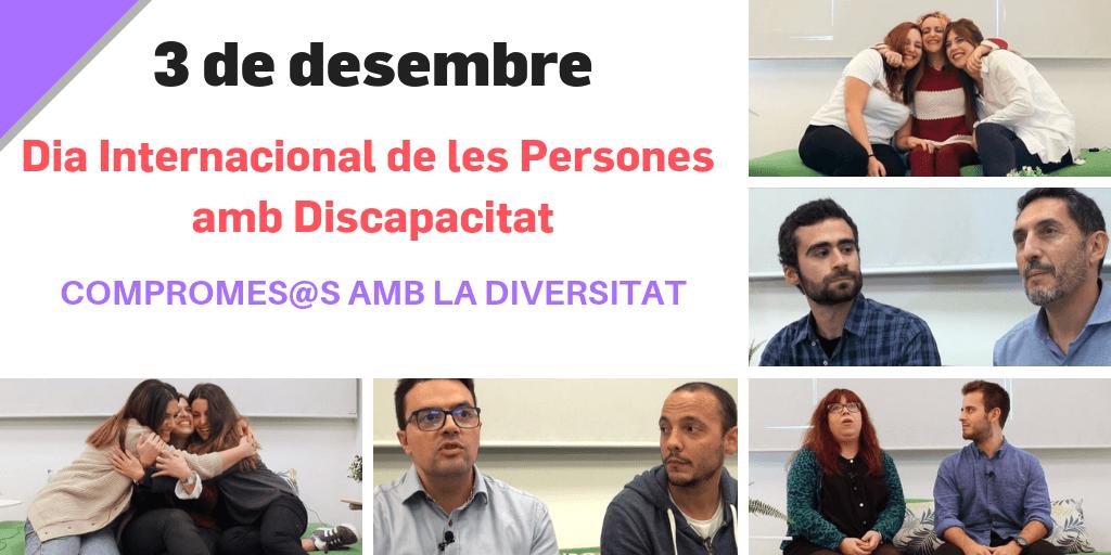BETWEEN es suma al dia Internacional de les Persones amb Discapacitat