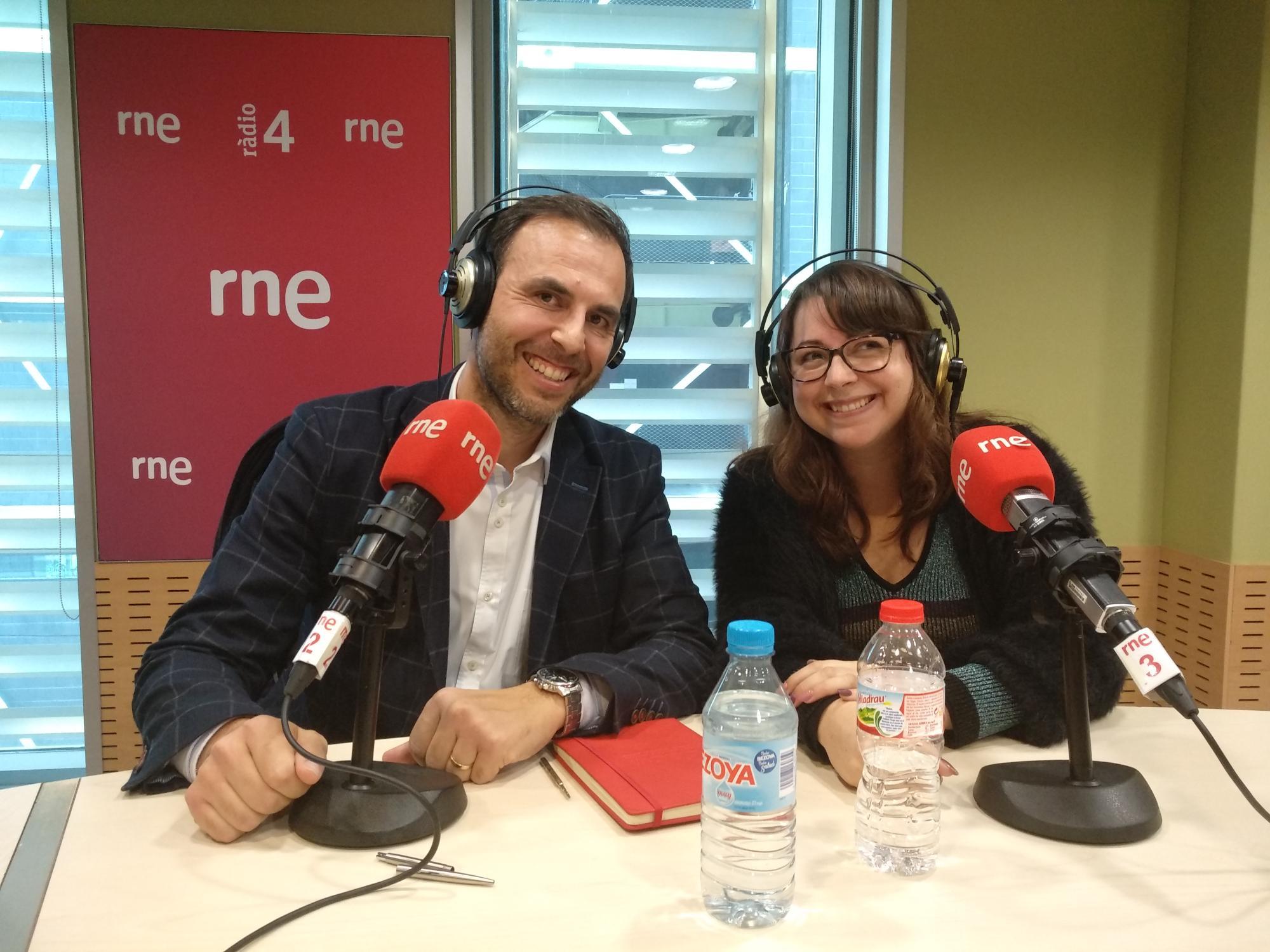 Pau Guarro, Director General, y Arantxa Juan, Marketing Manager, han contado enRàdio4, cómo trabajamos el Employer Branding en BETWEEN