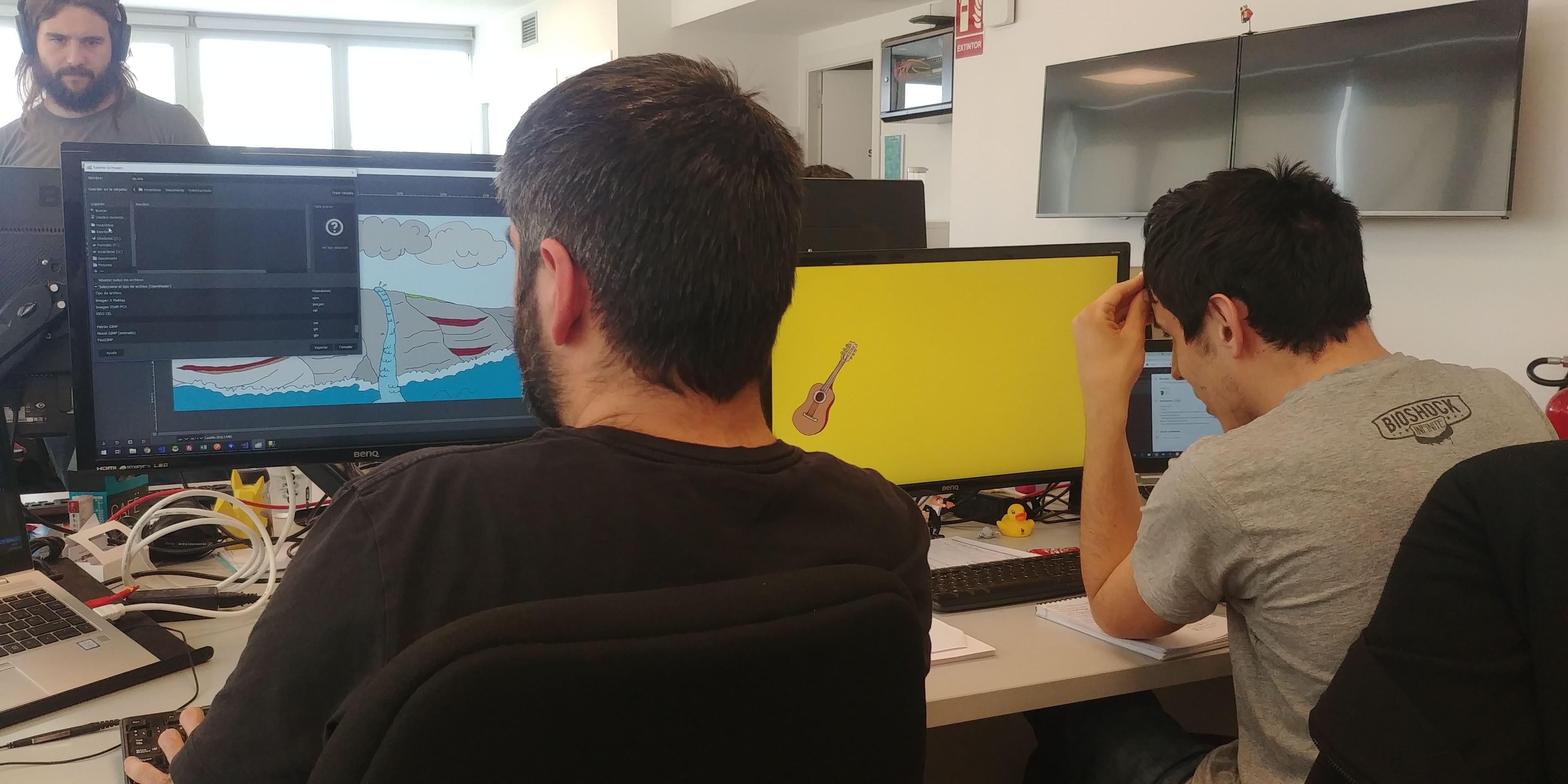 Betweeners colaborando en las jornadas de voluntariado para los proyectos de la Escoal Arboç