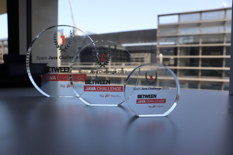 Los premios del Between Java Challenge 2019