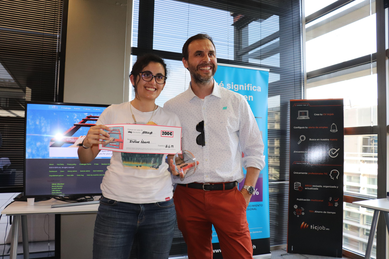Pau Guarro y Esther Álvarez. 2a Clasificada del Betweeen Java Challenge 2019