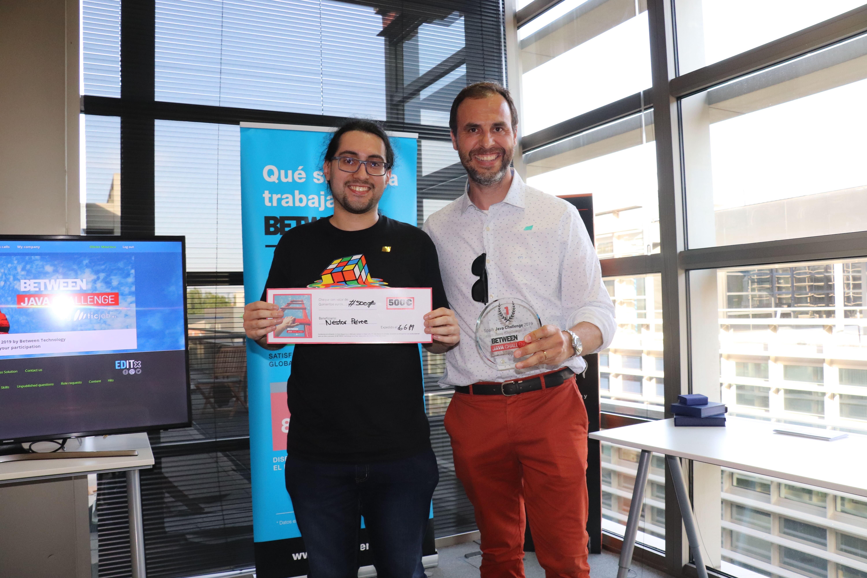 Pau Guarro y Néstor Pérez. 1r Clasificada del Betweeen Java Challenge 2019