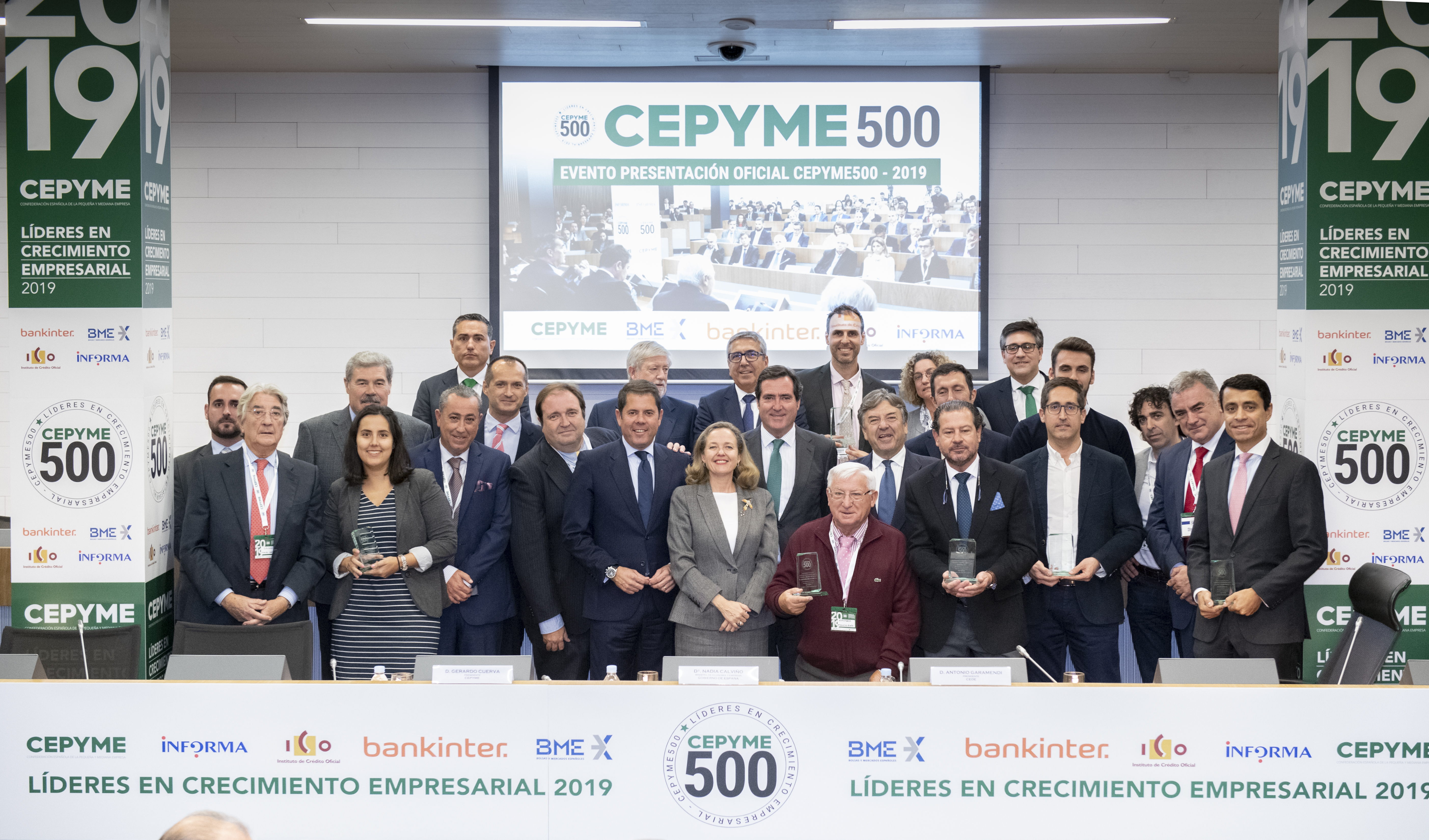 BETWEEN Technology galardonada con el Sello Oficial CEPYME500